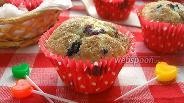 Фото рецепта Черничные кексы