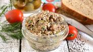 Фото рецепта Паштет из сардин с оливками