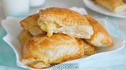 Фото рецепта Слойки с сыром