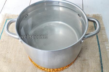 На 3 литра воды добавить 12 ч. л. соли и 24 ч. л. сахара. Кипятить. В конце добавить уксус.