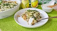 Фото рецепта Запеканка из филе минтая и цветной капусты