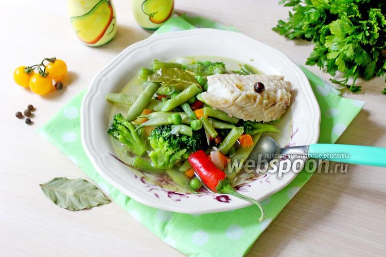 Фото Рыбный суп с овощами