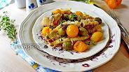 Фото рецепта Морской окунь по-средиземноморски
