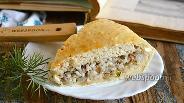 Фото рецепта Пирог с сардинами и рисом