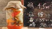 Фото рецепта Перцы печёные на зиму