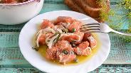 Фото рецепта Солёный кижуч в оливковом масле