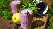 Фото рецепта Смузи черника-груша