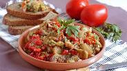 Фото рецепта Тёплый салат из запечённых овощей