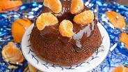 Фото рецепта Тыквенный кекс с мандаринами