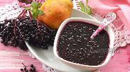 Фото рецепта Джем из чёрной бузины и груш