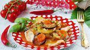 Фото рецепта Соте с курицей
