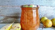 Фото рецепта Грушевое варенье с гвоздикой