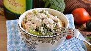 Фото рецепта Голец в сливочном соусе с брокколи