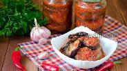 Фото рецепта Острые баклажаны на зиму