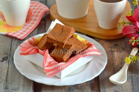 Конфеты из фасоли и шоколада