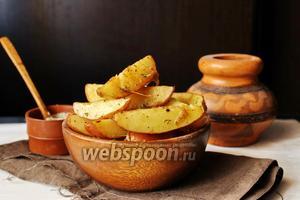Запечённый молодой картофель с бальзамическим уксусом