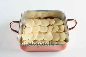 Потом слой картошки.