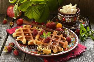 Толстые вафли «Капучино»