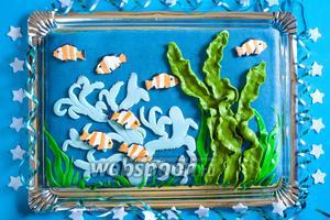 Торт «Морское дно»