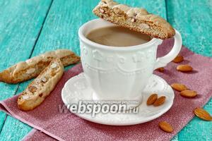 Печенье Кантуччи с миндалём