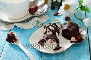 Творожно-шоколадные шарики