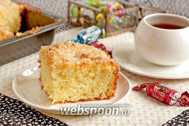 Фото Сахарный пирог