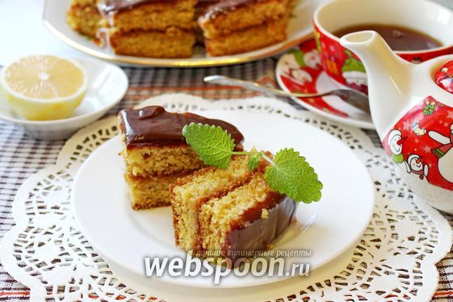 Фото Лимонное пирожное