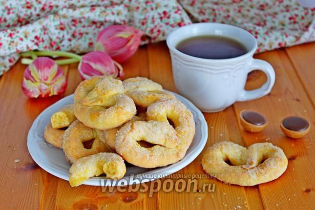 Фото Песочное печенье на желтках