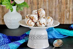 Печенье ореховое с Нутеллой
