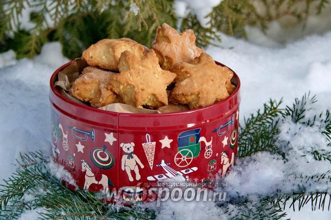 Фото Творожное печенье с кокосом