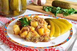 Картошка с тушёнкой