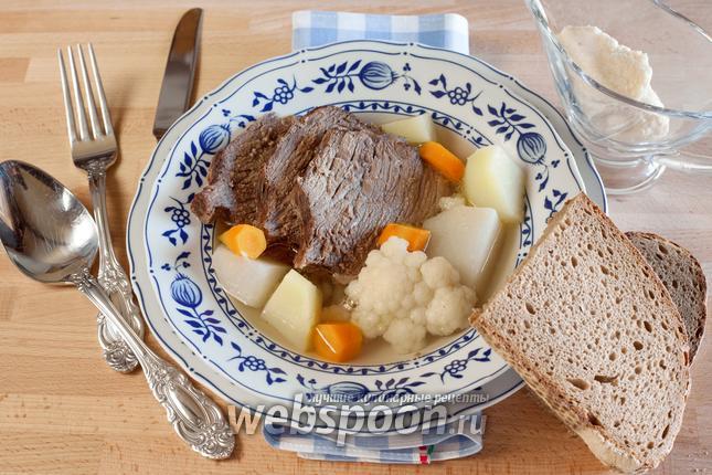 Рецепт Вареная говядина «Tafelspitz»
