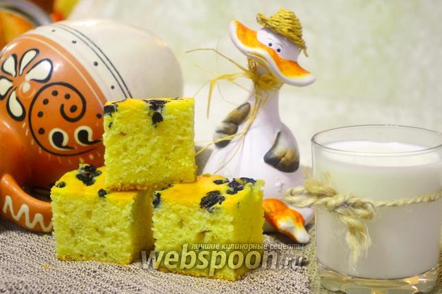 Фото Венгерский пирог с черникой