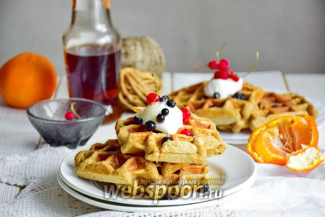диетические венские вафли рецепт