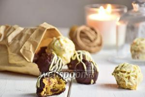 Нутовые конфеты с финиками