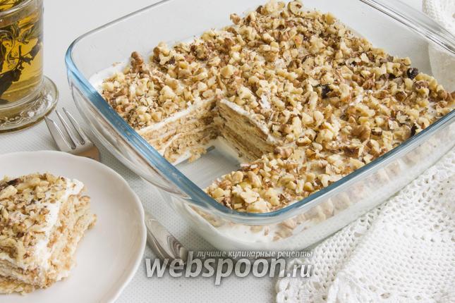 торт из печенья и сметаны рецепт