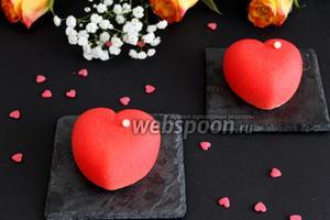 Пирожные «Сердце»