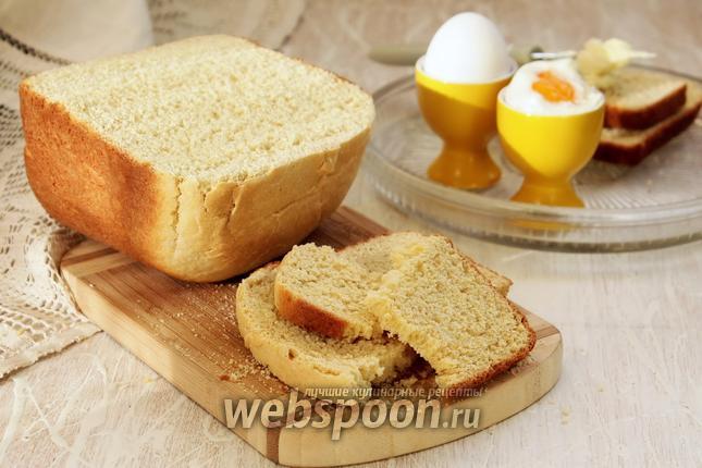 Фото Пшенично-кукурузный хлеб в хлебопечке