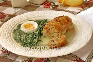 Фаршированные куриные шейки