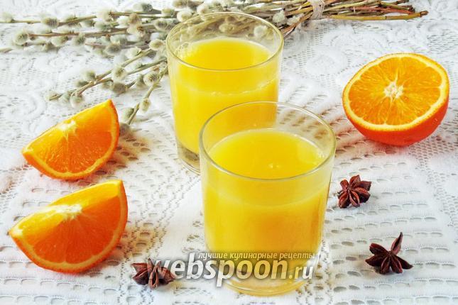 Фото Кисель из апельсинов