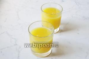 Готовый кисель разлить по стаканам и подать на десерт в обед или с пирогом на полдник.