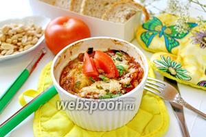 Запеканка из баклажанов и помидор