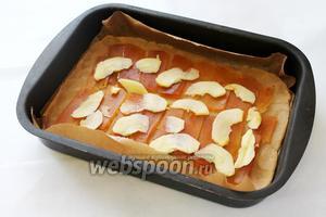 У меня очень сладкий мармелад, поэтому я решила его слегка разбавить яблоком.