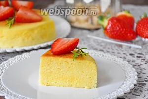 Вот десерт в разрезе. Приятного аппетита!