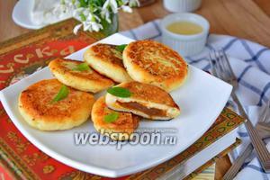 Сырники с варёной сгущенкой