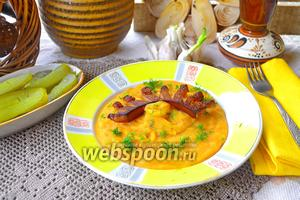 Картофельно-гороховое пюре