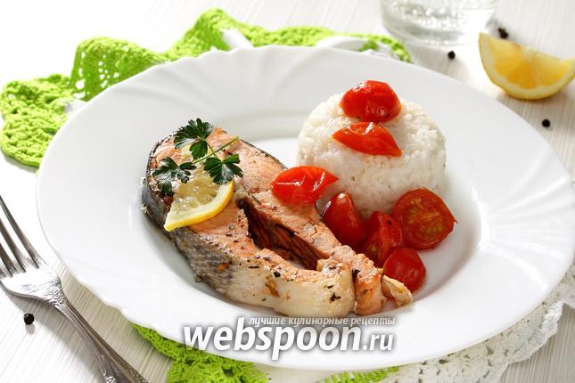 Фото Кижуч на сковороде