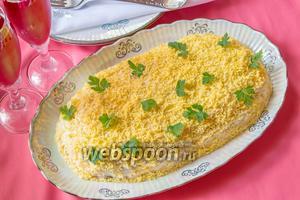 Салат «Белая берёза» с курицей