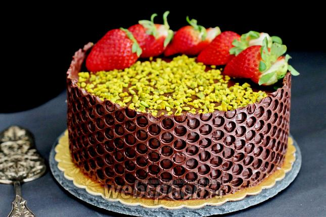 Фото Шоколадно-апельсиновый торт
