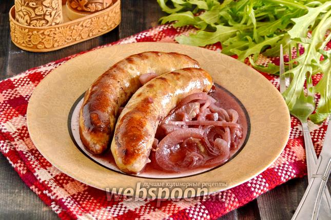 Фото Колбаски в духовке